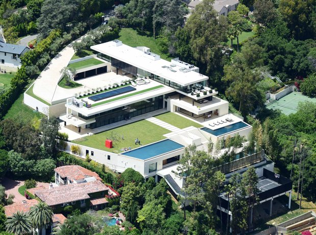 Beyonce and Jay-Z new home in Bel Air