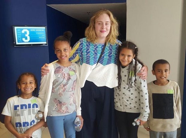 Adele and the children of the Grenfell Tower disas