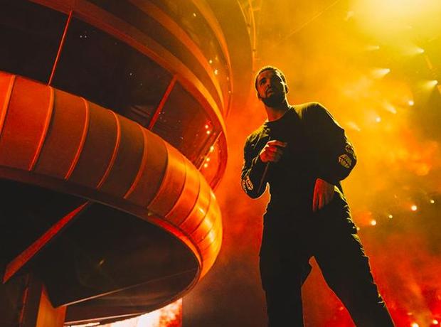 Drake performing at OVO Fest 2017
