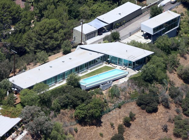 Pharrell William home Hollywood Hills