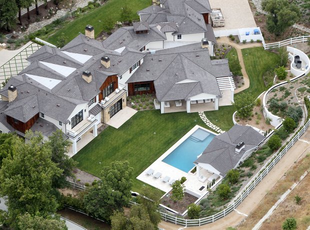 The Weeknd's home in Hidden Hills, CA
