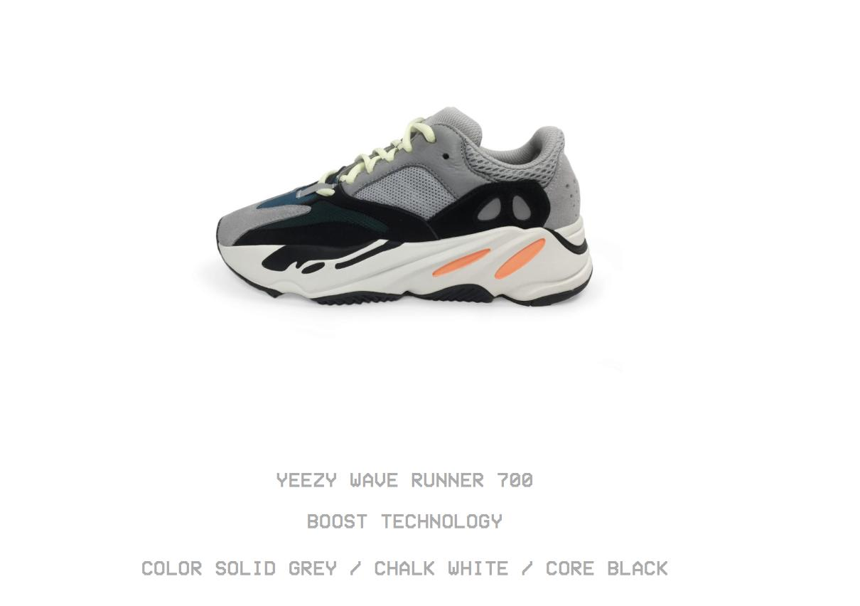 b9625a27cfa1e9 Adidas Yeezy Wave Runner 700  What They Cost And Where To Buy Them ...