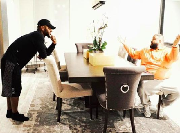Bryson Tiller and DJ Khaled