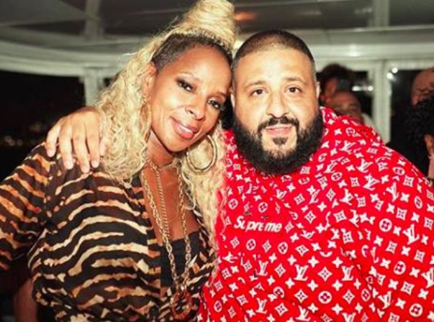 DJ Khaled and Mary J Blige