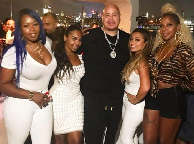 Fat Joe birthday party