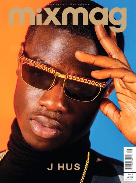 J Hus on the cover of Mixmag