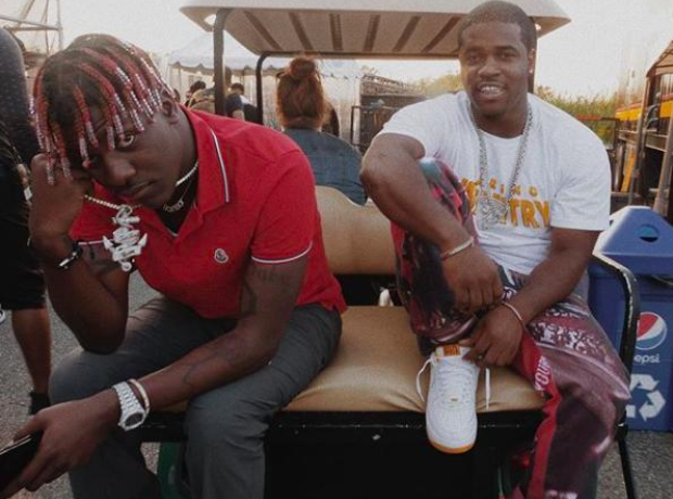 Lil Yachty and A$AP Ferg at the Billboard Hot 100