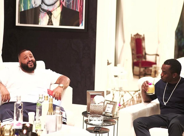 DJ Khaled and P Diddy