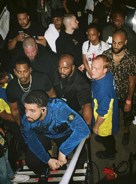 Drake at the BBK Takeover