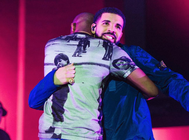 Giggs and Drake at BBK Takeover