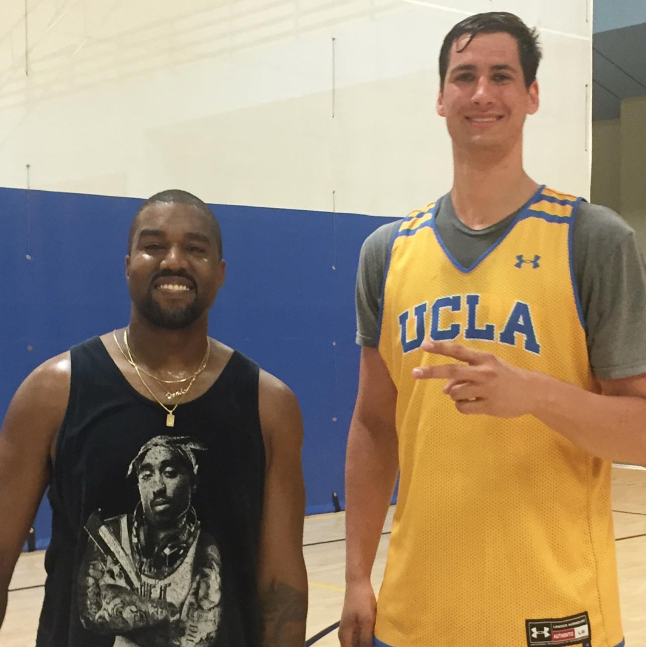 Kanye West Former Athlete