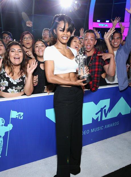 Teyana Taylor VMAs 2017