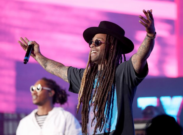 Ty Dolla Sign at Coachella 2017