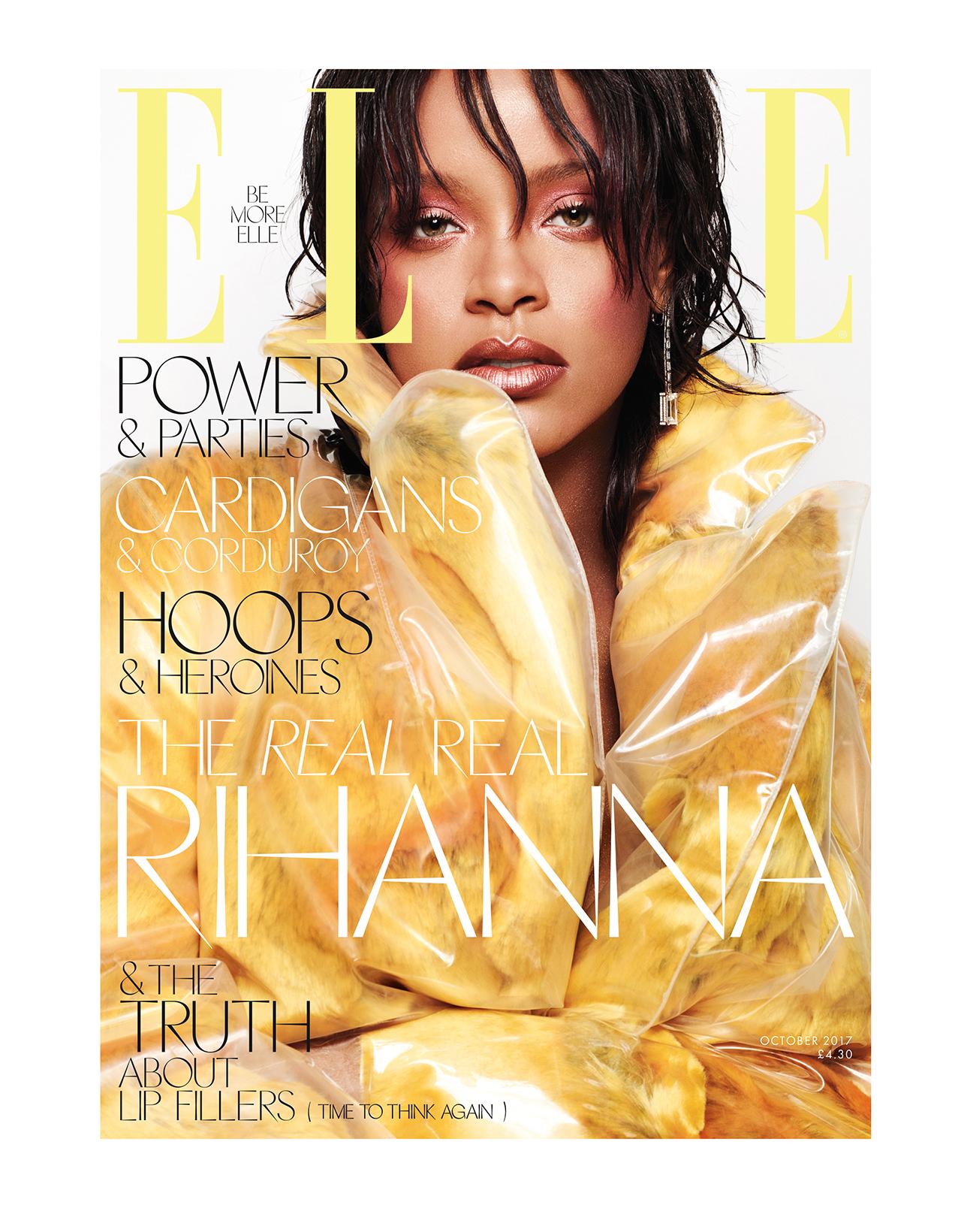 Rihanna covers ELLE UK