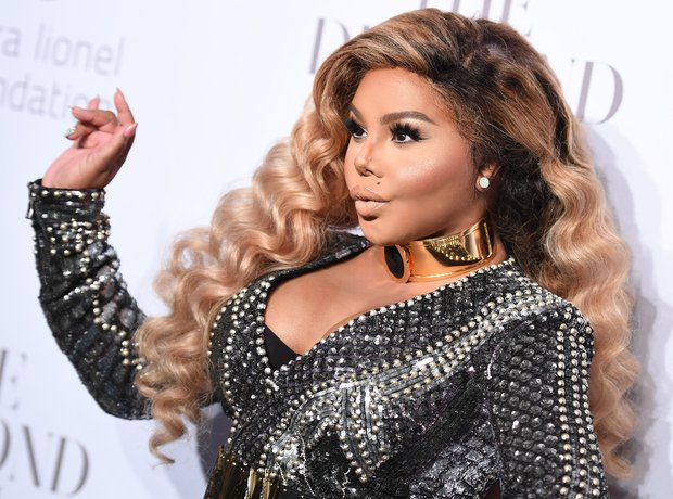 Lil Kim at the 3rd Annual Diamond Ball