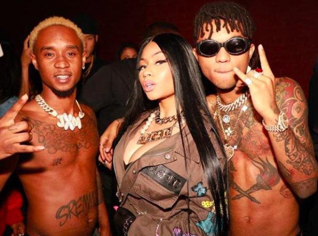 Nicki Minaj and Rae Sremmurd