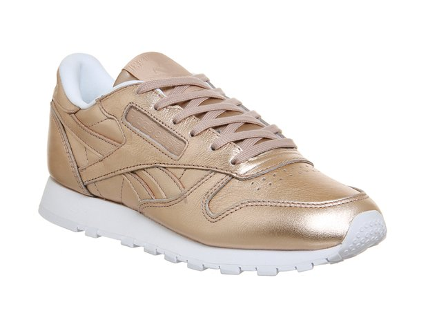 Reebok Classic Leather Pearl Metallic Peach