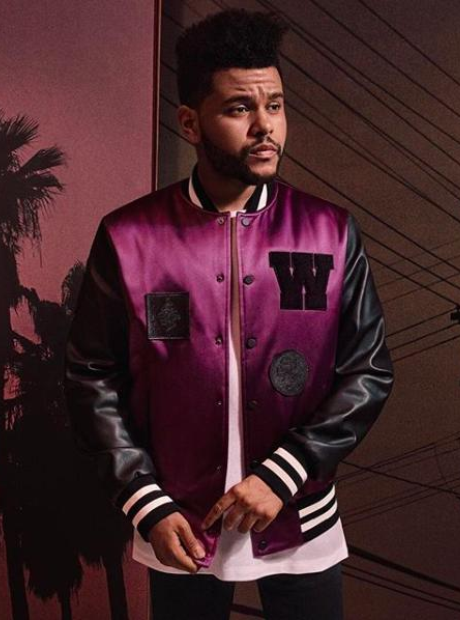 The Weeknd debuts his new H&M collection.