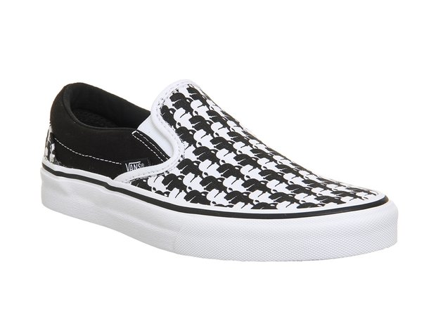 Vans X Karl Lagerfeld Classic Slip-On Shoes