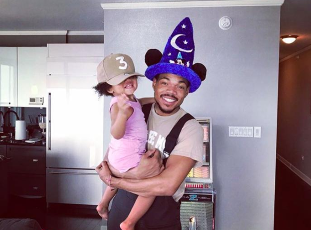 rChance The Rapper celebrates the 2nd birthday of