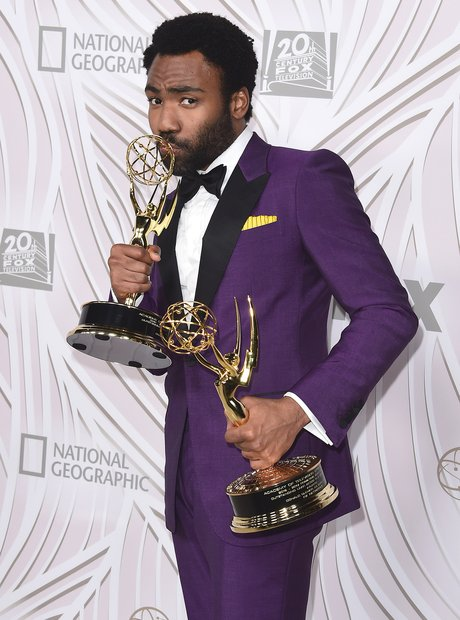 Donald Glover at the 2017 Emmy Awards