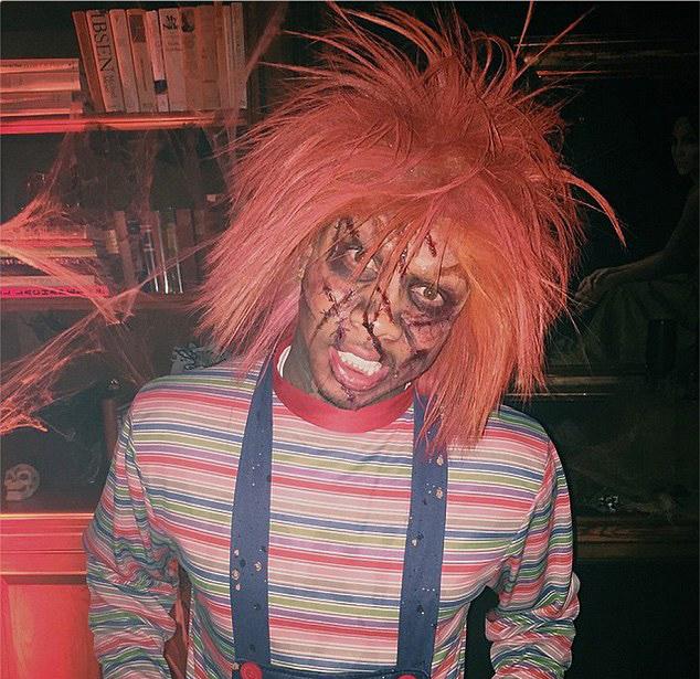 Tyga as Chucky