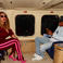 Image 7: Beyonce and Jay Z on their private jet