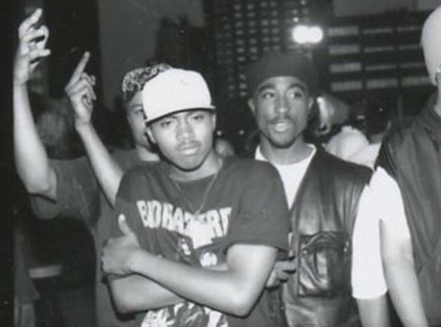 Nas Tupac Throwback