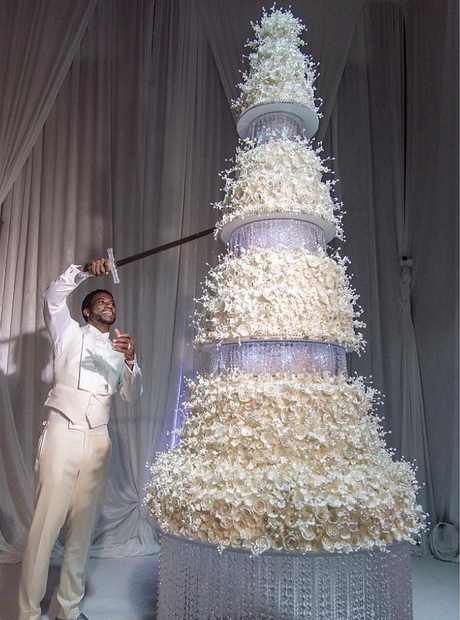Gucci Mane Wedding Cake