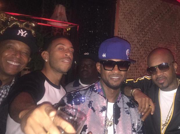Usher Ludacris Jermaine Dupri Karaoke Birthday