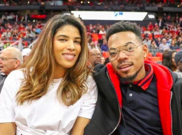 Chance The Rapper and girlfriend Kirsten Corley