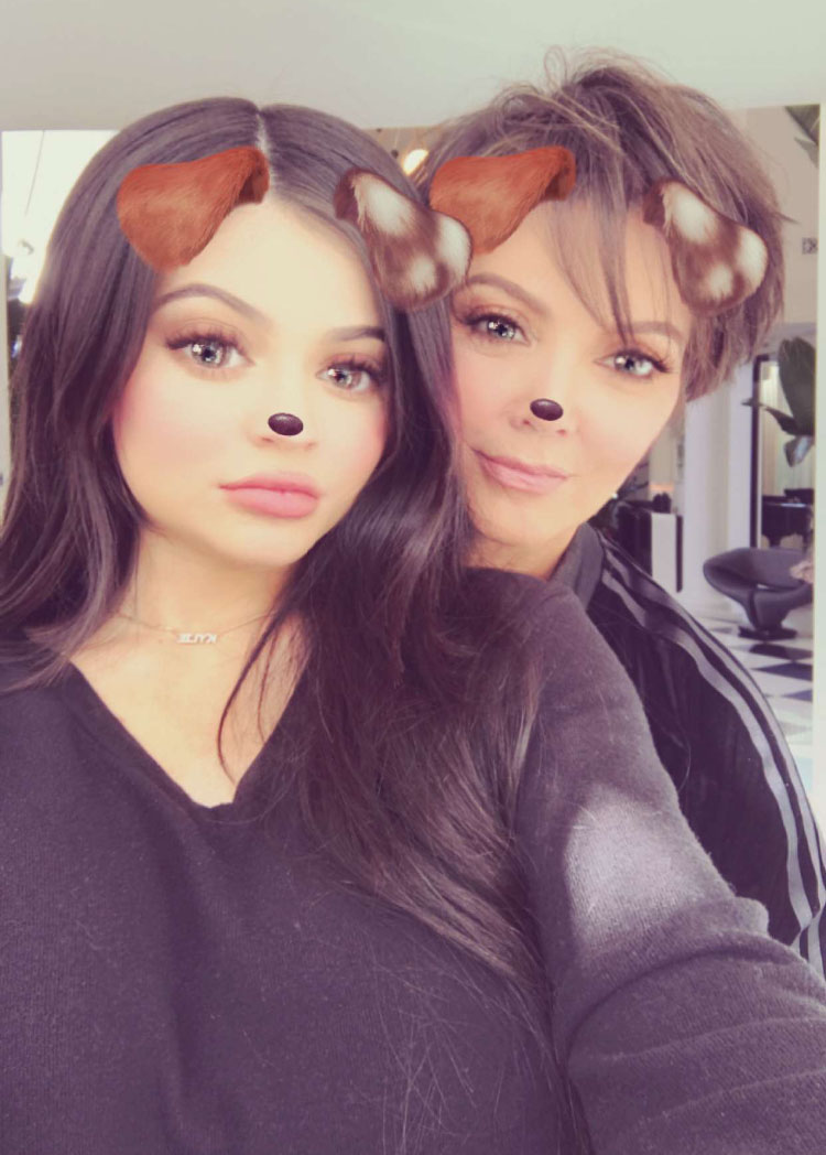 Kylie Jenner and Kris Jenner