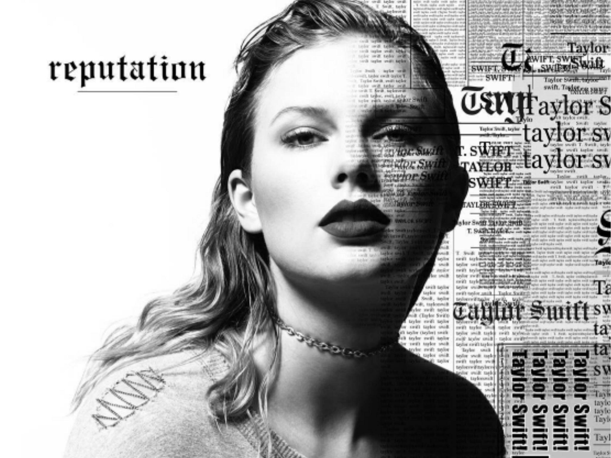Taylor Swift Reputation Album Artwork