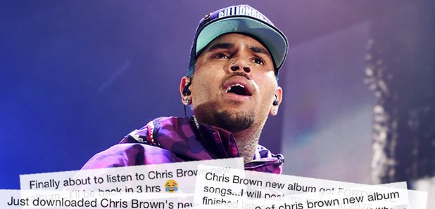 10 Stages Of Listening To Chris Brown's New Album That All