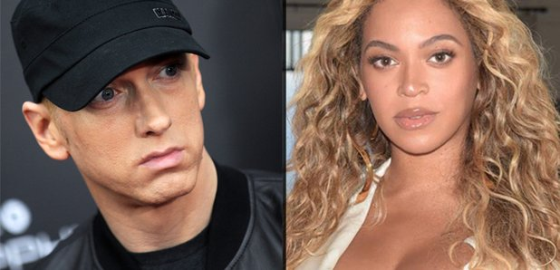 Eminem and Beyonce