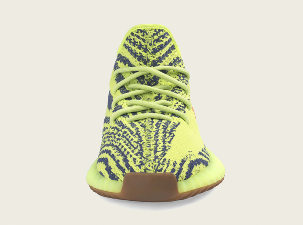 Adidas Yeezy Semi Frozen Yellow V2