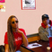Image 7: Beyonce at lunch with Jay Z