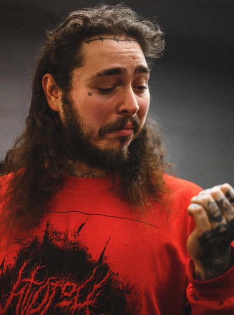Post Malone Barbed Wire Tattoo