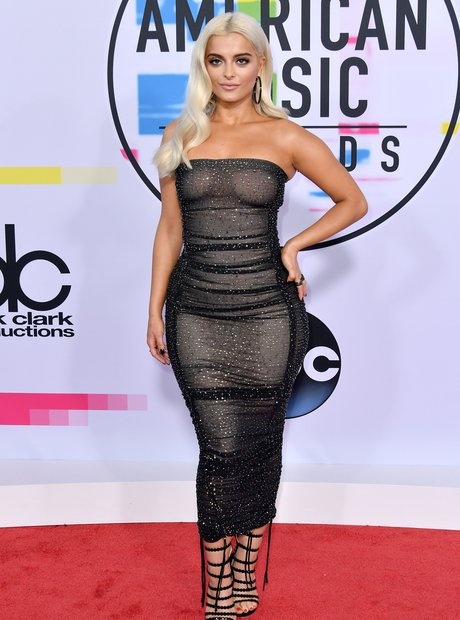 Bebe Rexha at the AMAs 2017