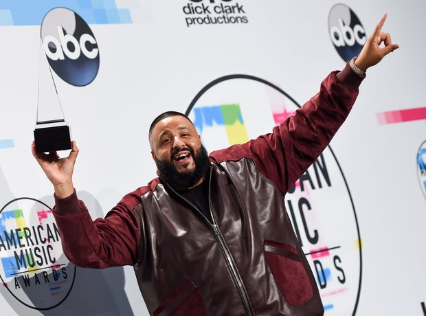 DJ Khaled at the AMAs 2017