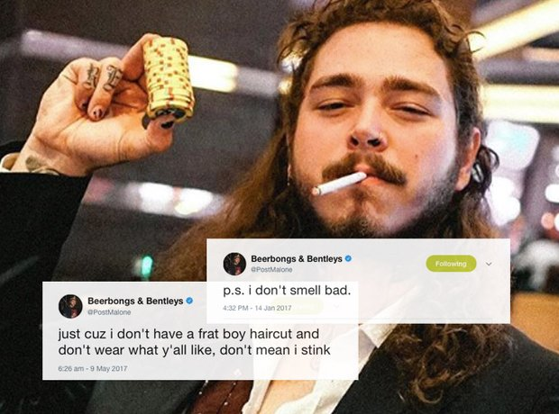 Does Post Malone Smell 21 Facts You Need To Know About Rockstar