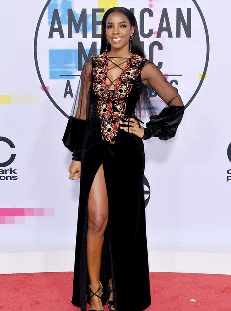 Kelly Rowland at the AMAs 2017