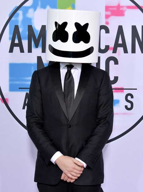 Marshmello at the AMAs 2017