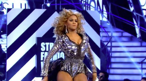 'Beyoncé' on Strictly Come Dancing