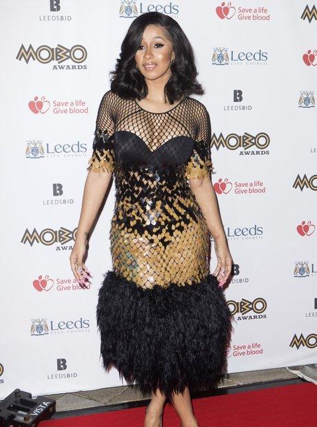 Cardi B MOBO Awards 2017