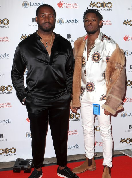 G FrSH and Yxng Bane MOBO Awards 2017