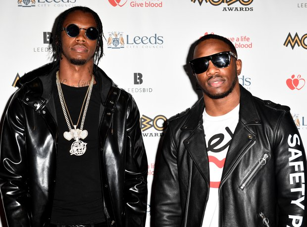 Krept & Kona at the MOBO Awards 2017