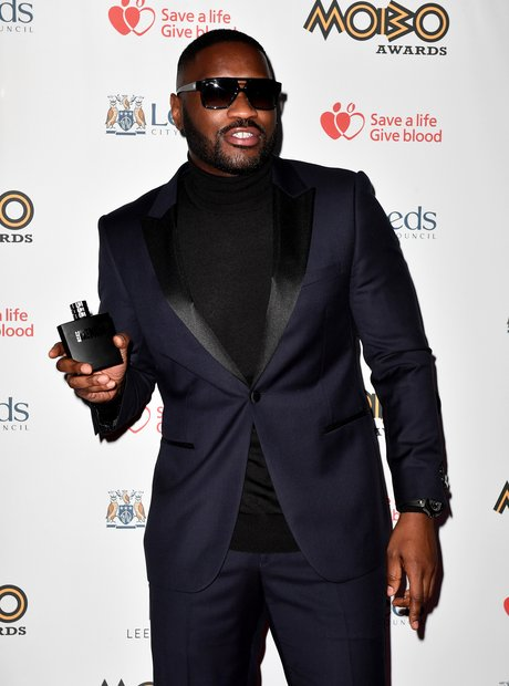 Lethal Bizzle at the MOBO Awards 2017