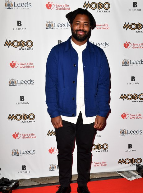 Sampha at the MOBO Awards 2017