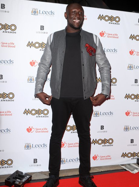 Stormzy at the MOBO Awards 2017